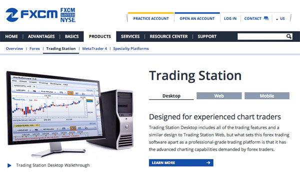 Trading station indicators