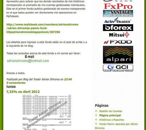 Broker website