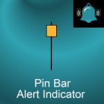 Pin bar alert indicator