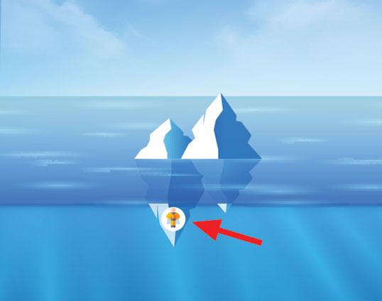 Child iceberg