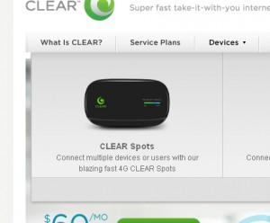 Clear 4G spot