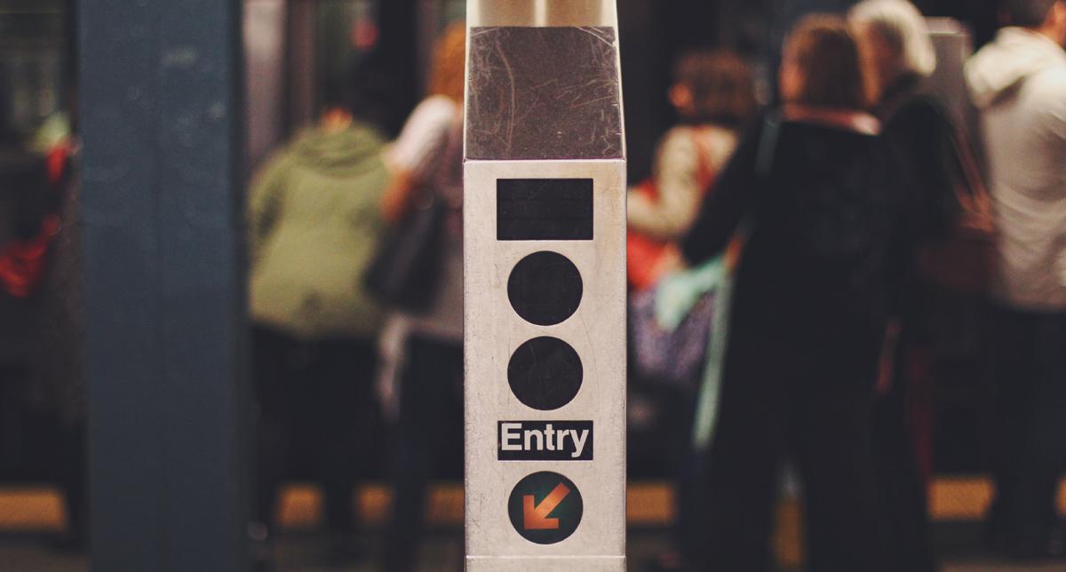 Entry signal