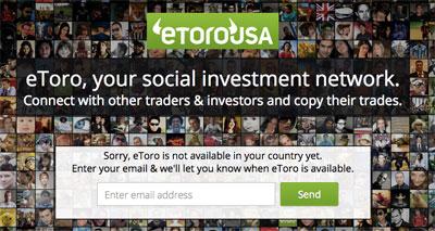 Etoro Forex website