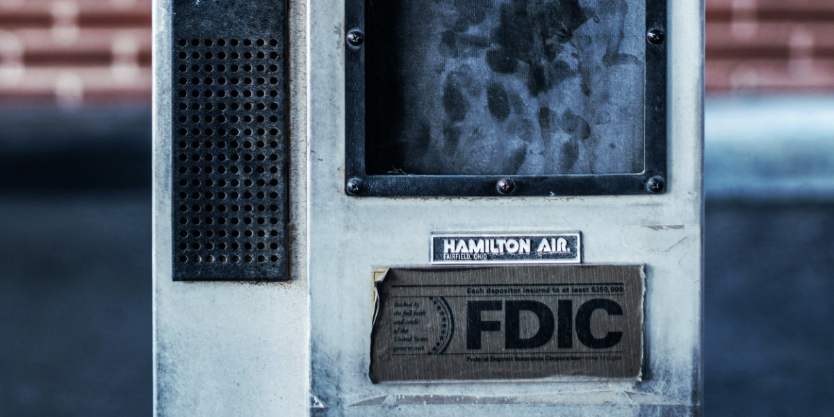 FDIC Sticker