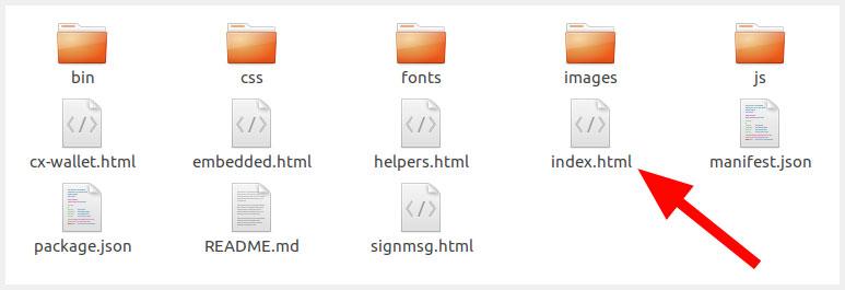 MyEtherWallet Folder