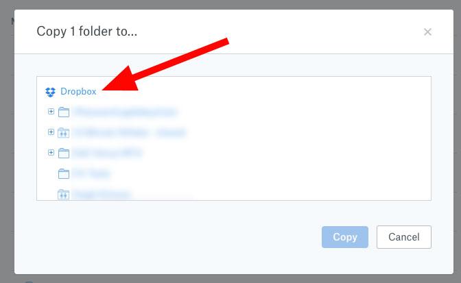 Main Dropbox Folder