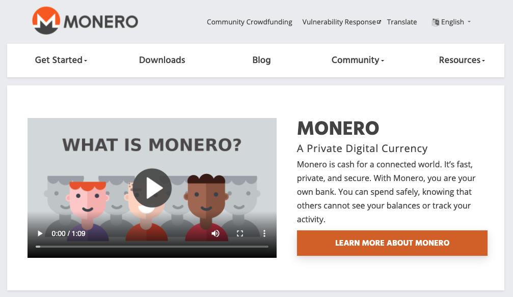 About Monero
