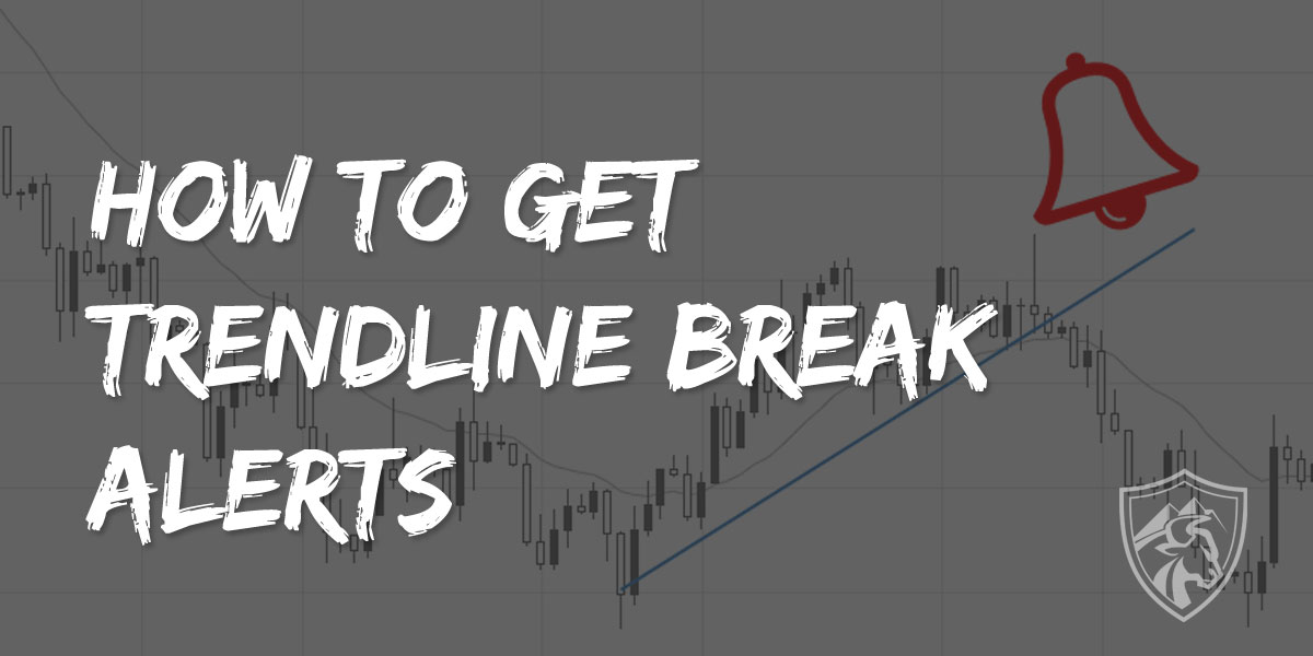 How to get trendline break alerts