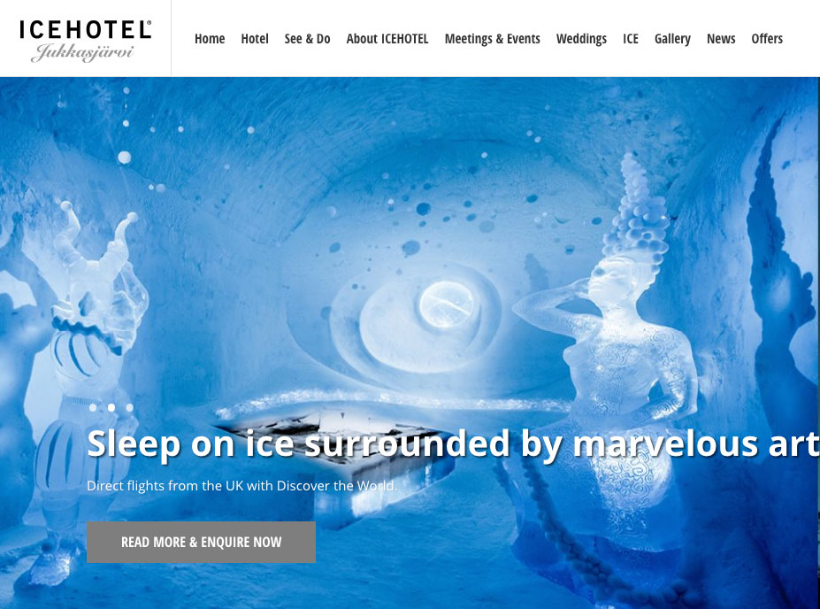 Ice Hotel goal