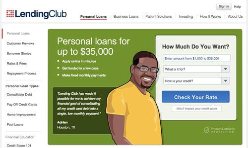lending-club-homepage