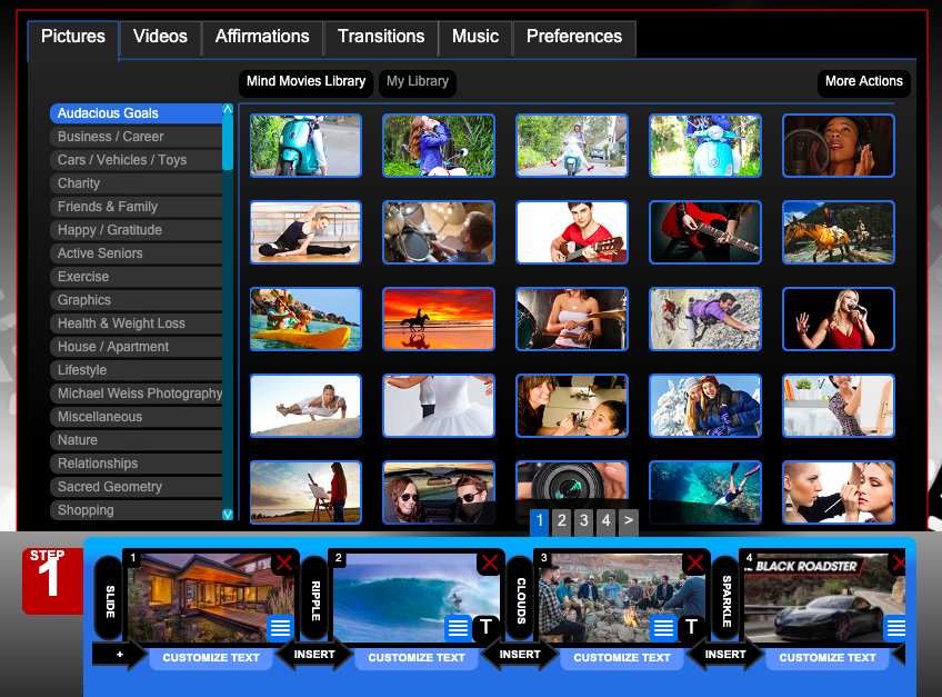 Mind Movies software
