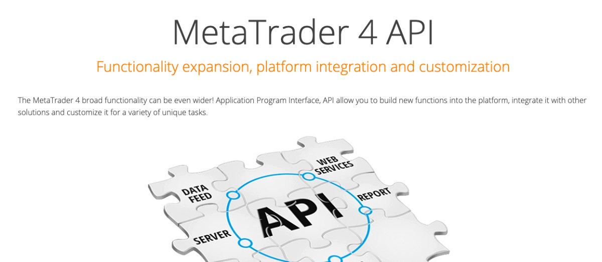 MetaTrader API