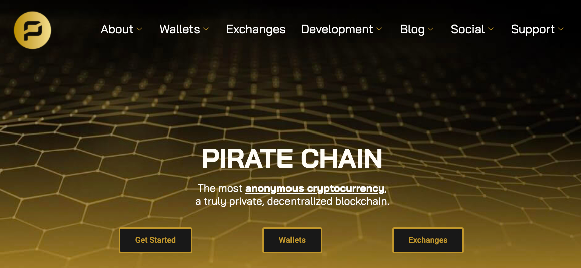 Pirate Chain Cryptocurrency