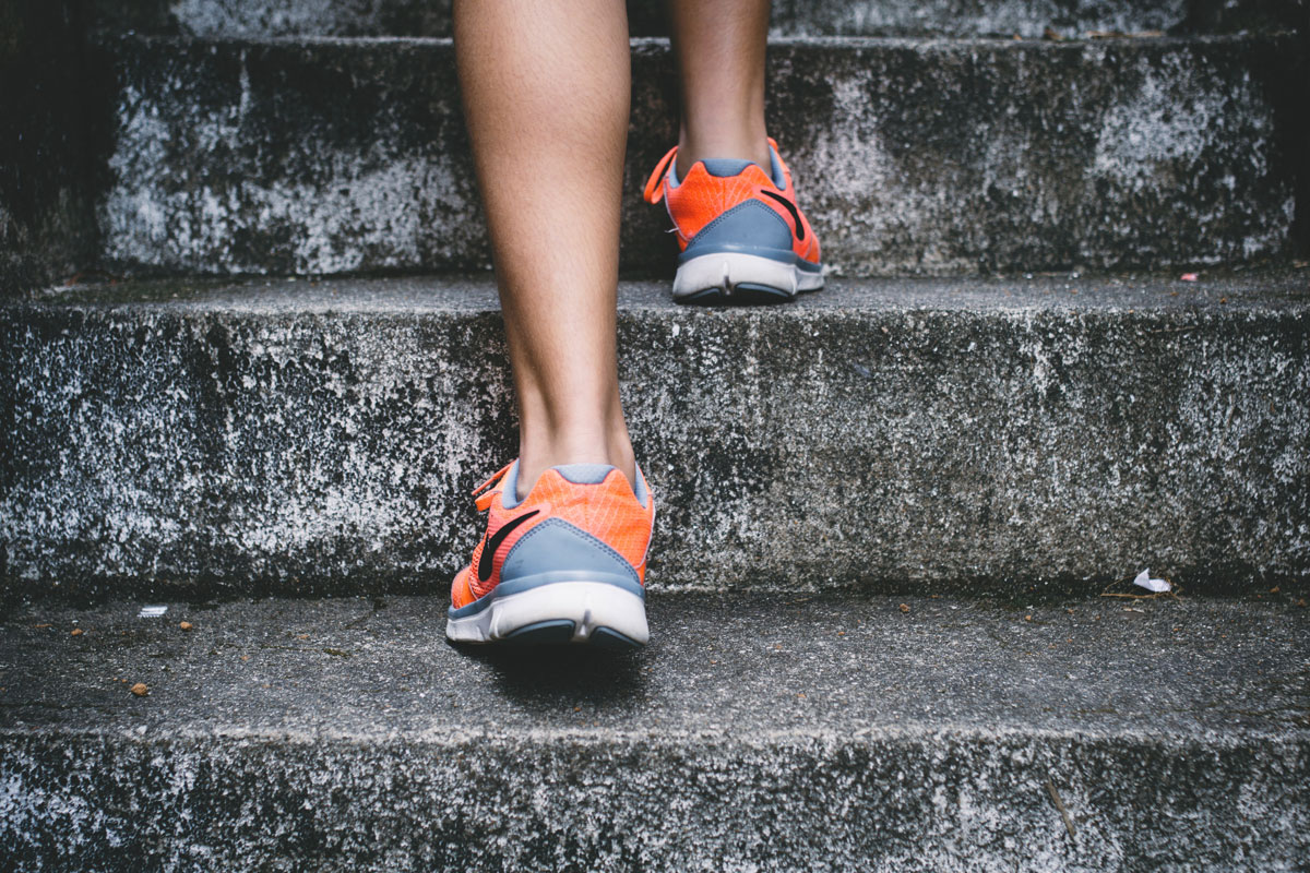 Running for exercise