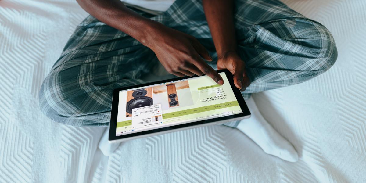 Widows tablet computer