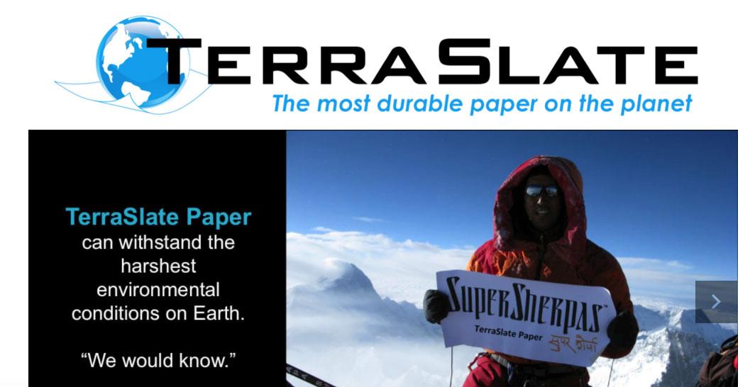 TerraSlate Paper