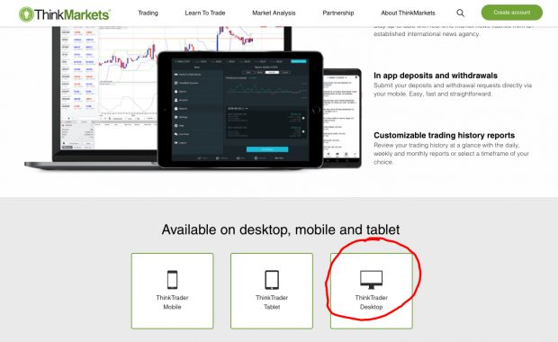 ThinkTrader desktop download