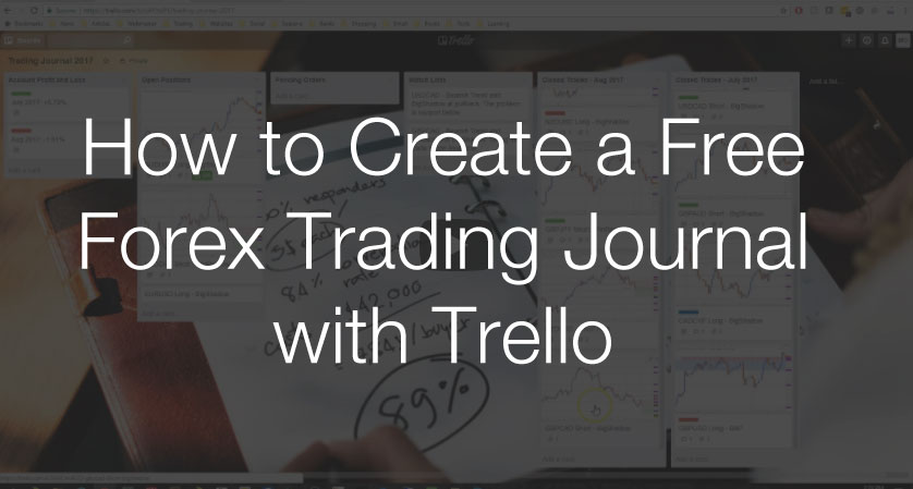 Free online forex trading journal